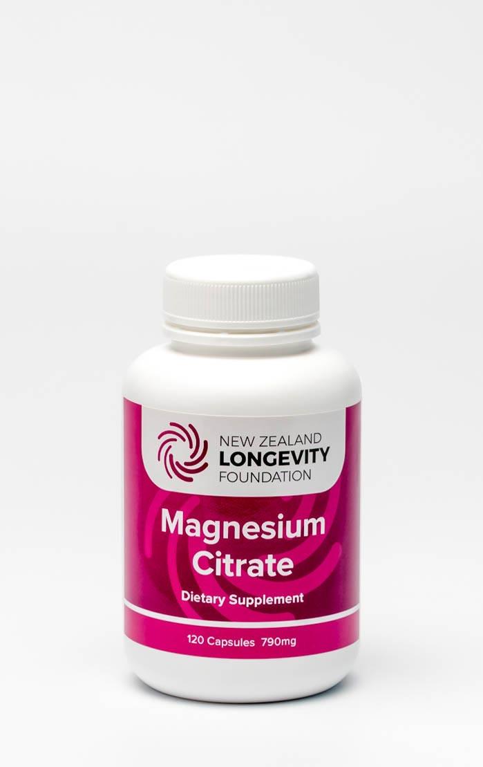 Magnesium Citrate 120 Capsules