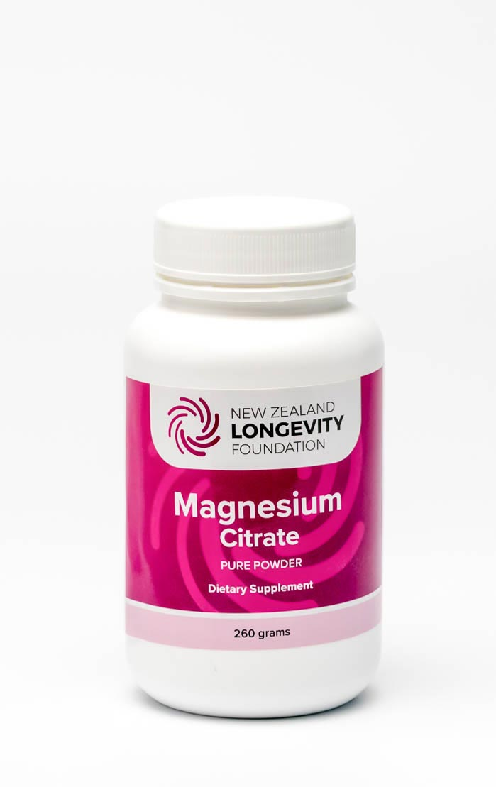 Magnesium Citrate Pure Powder 260g