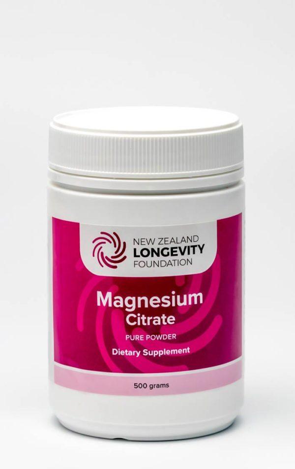 Magnesium Citrate Pure Powder 500g