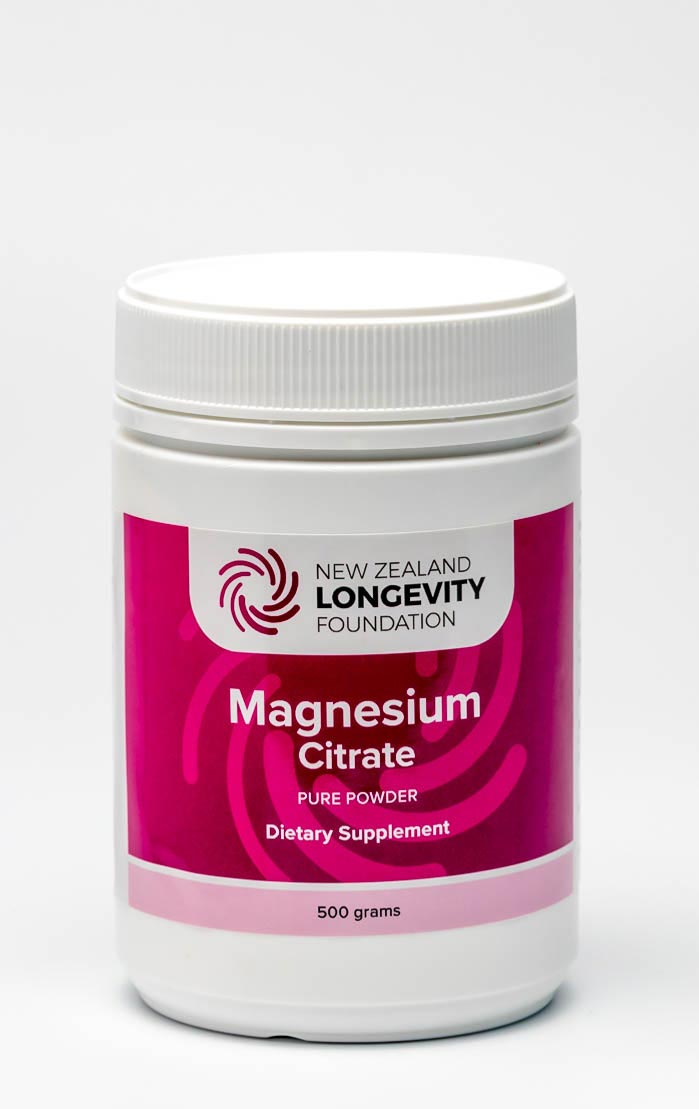 Magnesium Citrate Pure Powder 500g