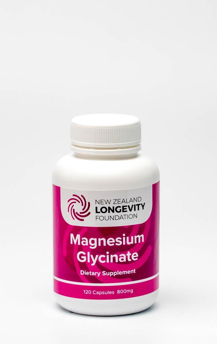 Magnesium Glycinate 120 capsules