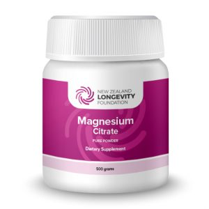 Magnesium Citrate Powder 500gr, (B# 004)