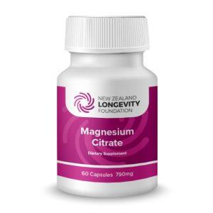 MAGNESIUM Citrate 60 Capsules