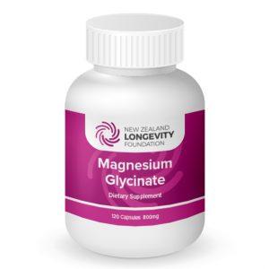 Magnesium Glycinate 120 Capsules, (B# 467)