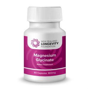 Magnesium Glycinate 60 Capsules, (B# 467)