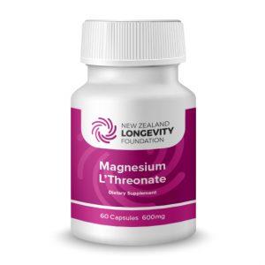 Magnesium L'Theronate 60 Capsules