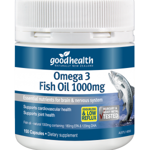 Omega 3 Fish Oils 1000mg –  150 Capsules