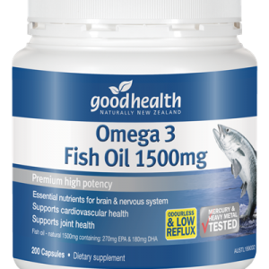 Omega 3 Fish Oils 1500mg –  200 Capsules