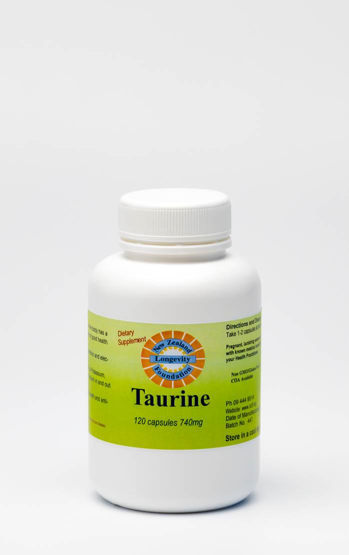 Taurine 120 Capsules